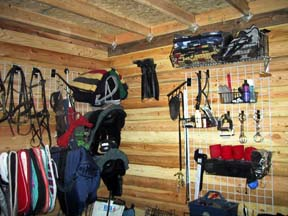 The Organized Barn And Trailer